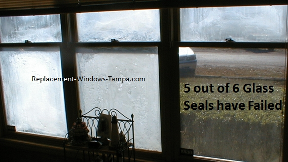 Multiple Window Seals Failed