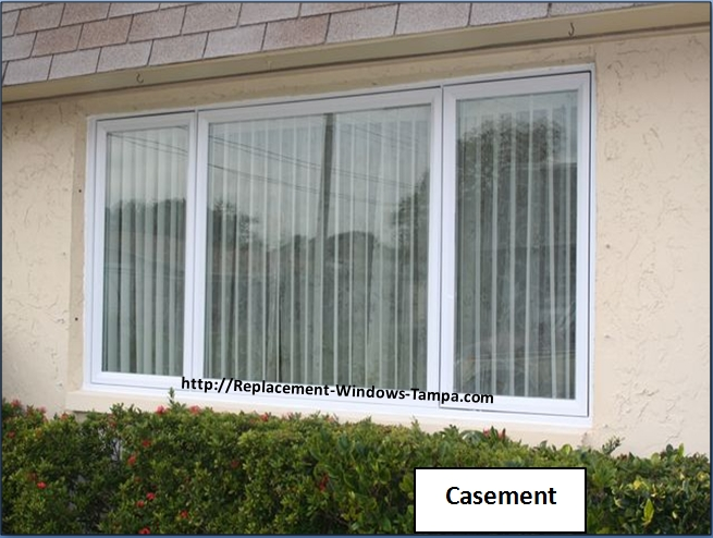 Replacement window styles and replacement window combinations for Picture window replacement