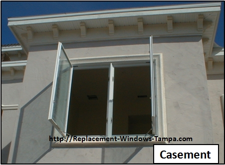 Replacement window styles and replacement window combinations for Replacement casement windows