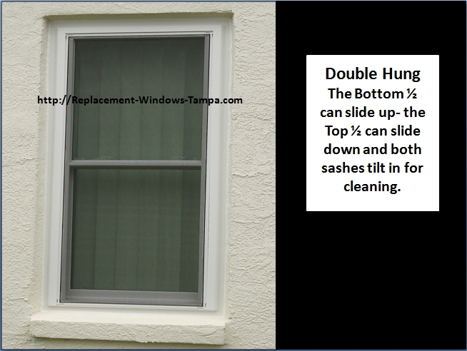 Replacement window styles and replacement window combinations for Window screen replacement